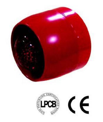 Còi + đèn chớp thường GST