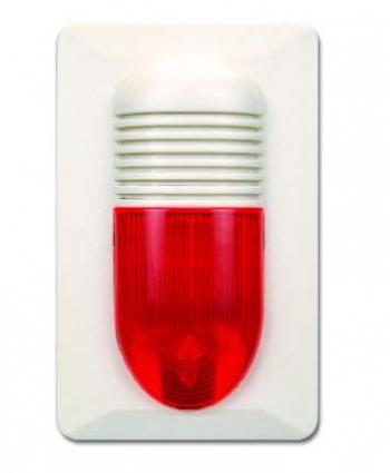 Còi + đèn báo động thường GST