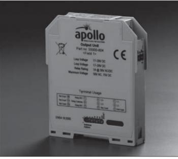 Module điều khiển còi đèn Apollo XP95 DIN Rail 5 Amp